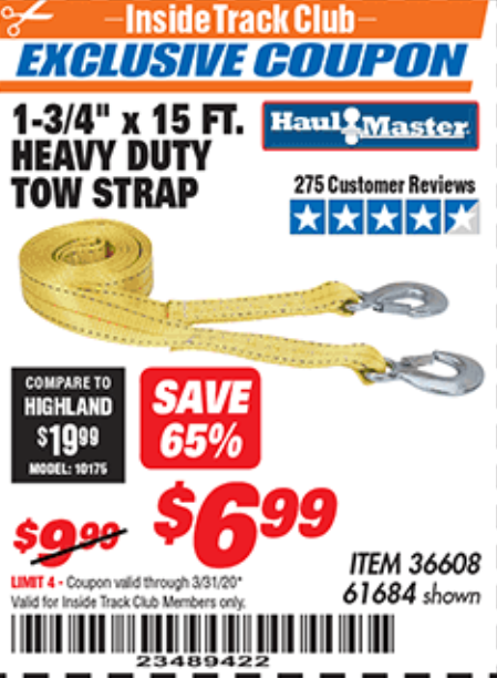 Harbor Freight 1-3/4