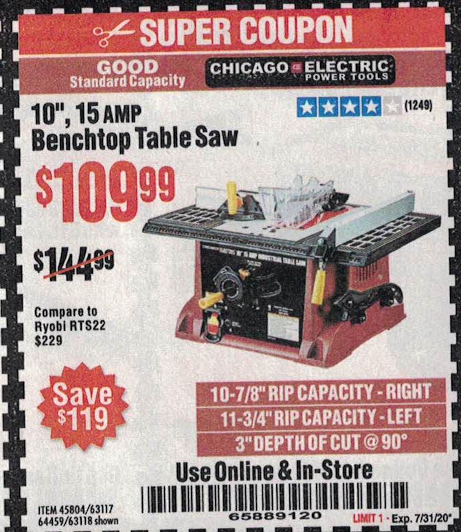 Harbor Freight 10
