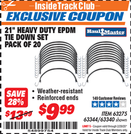 Harbor Freight 20 PIECE, 21