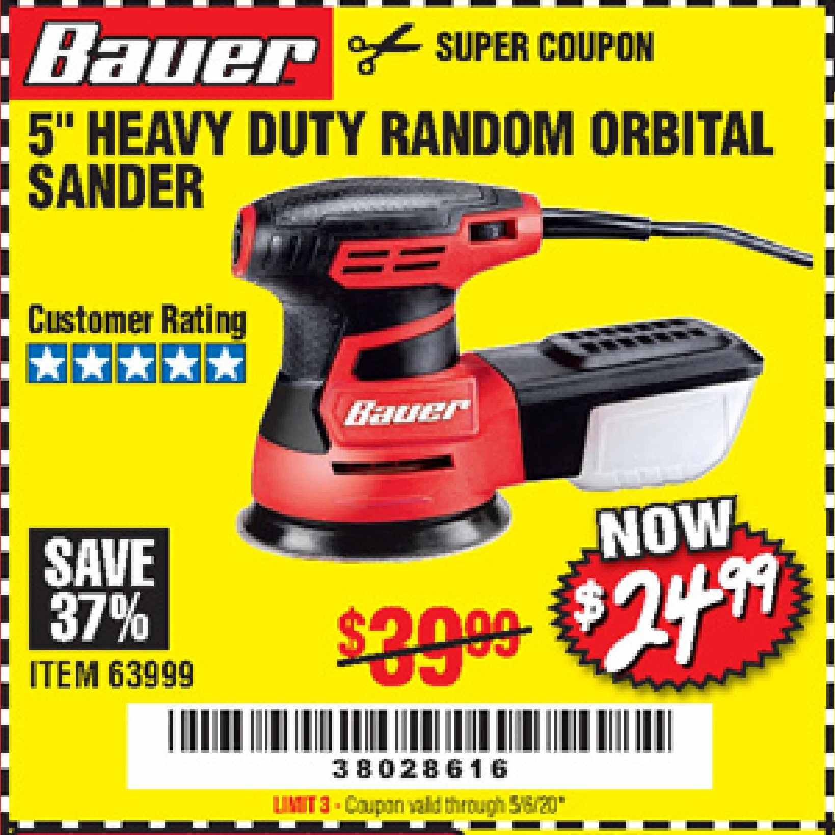 Harbor Freight BAUER 5