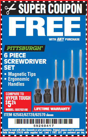 Harbor Freight Free Gifts - Gift Ideas