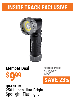 www.hfqpdb.com - QUANTUM 250 LUMEN ULTRA-BRIGHT MINI SPOTLIGHT-FLASHLIGHT Lot No. 56882