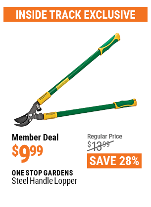 www.hfqpdb.com - ONE STOP GARDENS STEEL HANDLE LOPPER Lot No. 69822