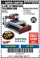 "Harbor Freight Coupon 2.5 HP, 10"" TILE/BRICK SAW Lot No. 69275/62391/95385 Expired: 8/31/17 - $219.99"