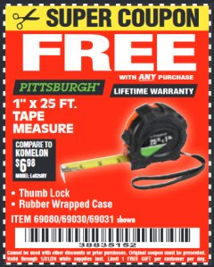 Harbor Freight Tools Coupon Database - Coupon Search for: 3