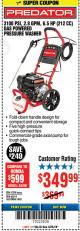 Harbor Freight Coupon 3100 PSI, 2.8 GPM 6.5 HP (212 CC) GAS POWERED PRESSURE WASHERS WITH 25 FT. HOSE Lot No. 62200/62214 Expired: 3/25/18 - $349.99