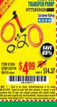 Harbor Freight Coupon MULTI-USE TRANSFER PUMP Lot No. 63144/63591/61364/62961/66418 Expired: 2/4/17 - $4.99
