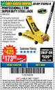 Harbor Freight Coupon 3 TON DAYTONA PROFESSIONAL STEEL FLOOR JACK - SUPER DUTY Lot No. 63183 Expired: 11/22/17 - $173.99