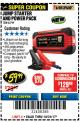Harbor Freight Coupon LITHIUM ION JUMP STARTER AND POWER PACK Lot No. 62749/64412/56797/56798 Expired: 10/31/17 - $59.99