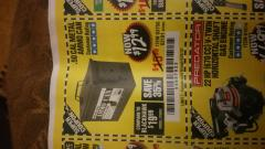 Harbor Freight Coupon .50 CAL METAL AMMO CAN Lot No. 63750/56810/63181 Expired: 6/23/18 - $12.99