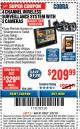 Harbor Freight ITC Coupon 4 CHANNEL WIRELESS SURVEILLANCE SYSTEM WITH 2 CAMERAS Lot No. 63842 Expired: 3/8/18 - $209.99