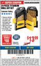 Harbor Freight ITC Coupon 29 PIECE TITANIUM DRILL BIT SET Lot No. 5889/62281/61637 Expired: 3/8/18 - $13.99