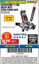 Harbor Freight Coupon RAPID PUMP 3 TON HEAVY DUTY STEEL FLOOR JACK Lot No. 68048/69227/62116/62590/62584 Expired: 11/22/17 - $67.99