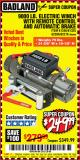 Harbor Freight Coupon 9000 LB. ELECTRIC WINCH WITH REMOTE CONTROL AND AUTOMATIC BRAKE Lot No. 61346/61325/62596/62278/68143 Expired: 9/11/17 - $249.99