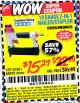 Harbor Freight Coupon 18 GAUGE 2-IN-1 NAILER/STAPLER Lot No. 68019/61661/63156 Expired: 8/15/15 - $15.27