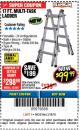 Harbor Freight Coupon 17 FT. TYPE 1A MULTI-TASK LADDER Lot No. 67646/62656/62514/63418/63419/63417 Expired: 3/18/18 - $99.99